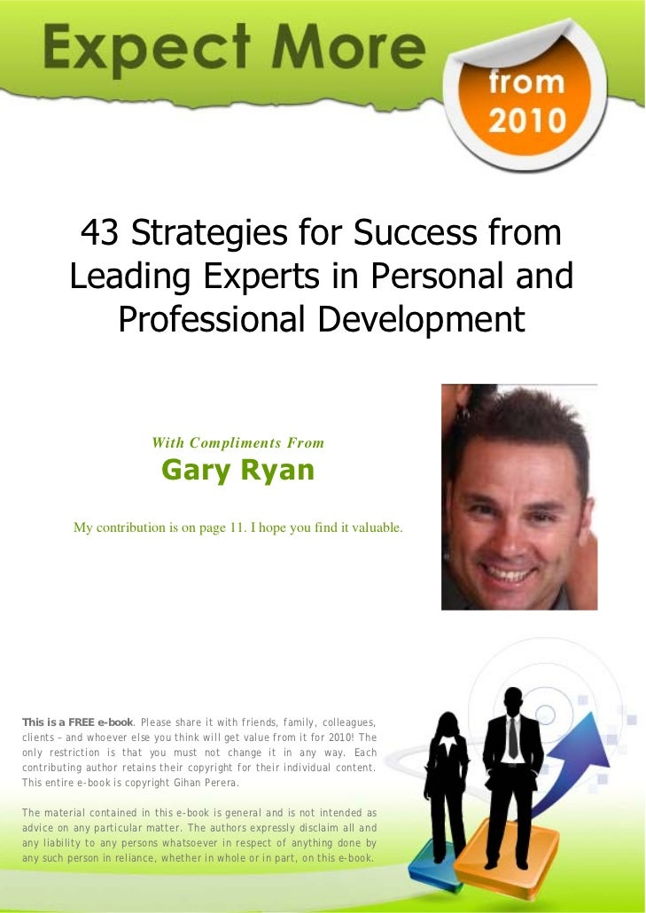 43 Strategies for Success from          Leading Experts in Personal and             Professional Development              ...