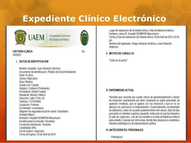 Expediente Clínico Electrónico