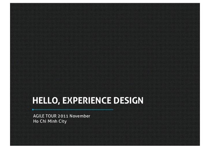 Expeirence design-vietnam-agile tour