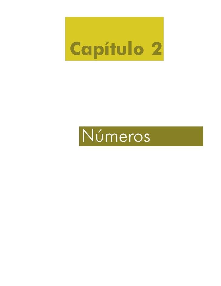 Capítulo 2 Números   51