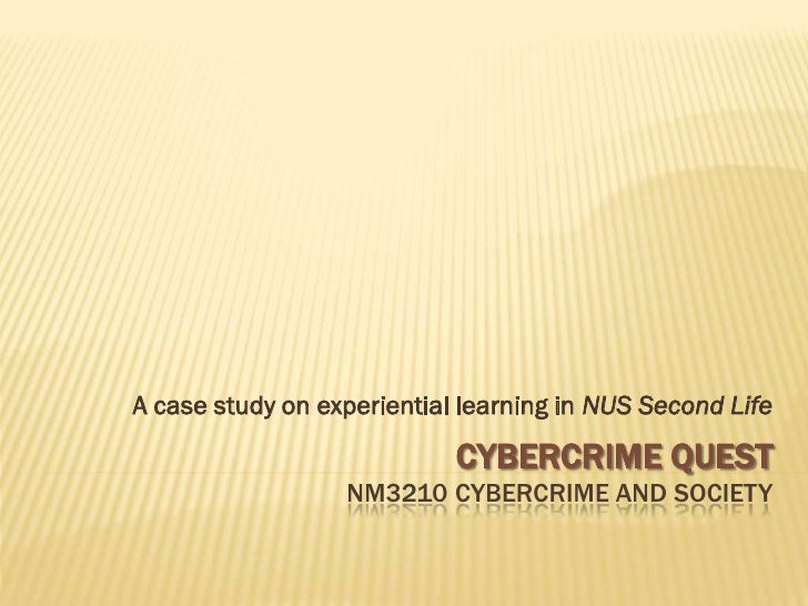 A case study on experiential learning in NUS Second Life