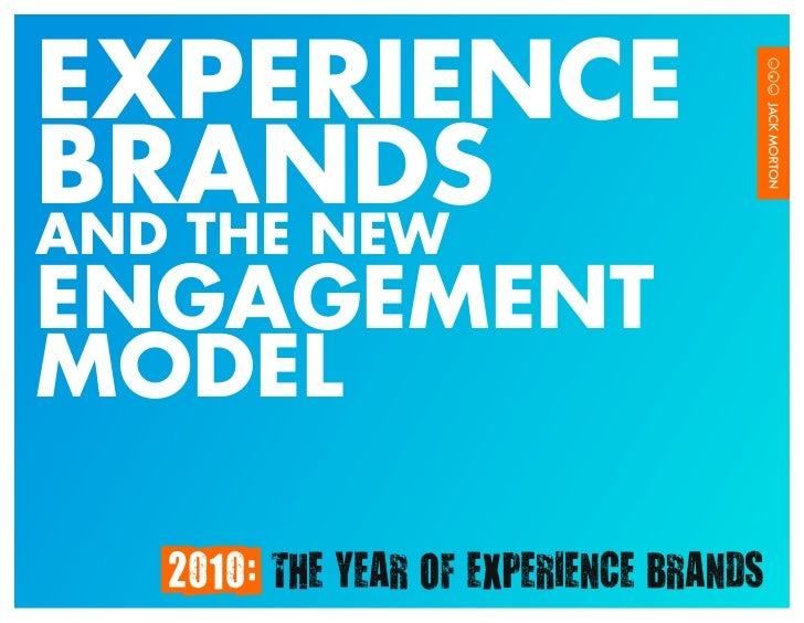Consumer engagement and brand experience research