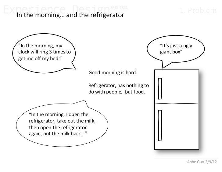 Experience+design refrigerator