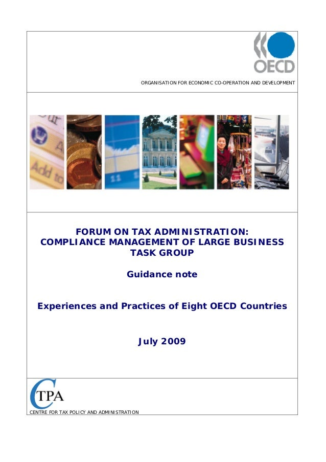 Experiences and practices of eight oecd countries