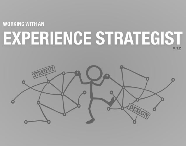 WORKING WITH ANEXPERIENCE STRATEGISTSTRATEGYDESIGNv. 1.2