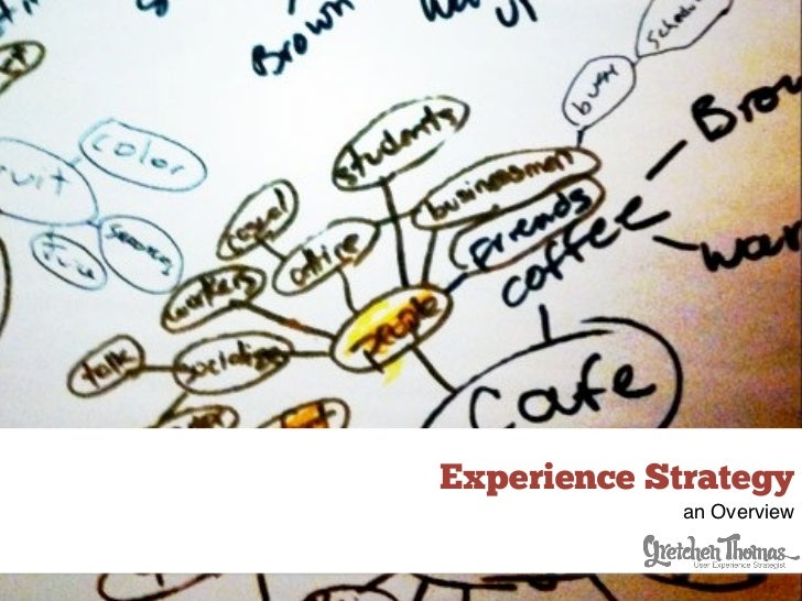 Experience Strategy             an Overview