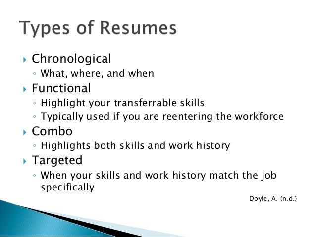 Reentering the workforce resume examples