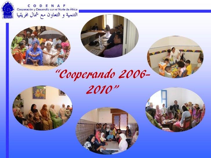 Experiencia de Codenaf en Cooperación para el desarrollo
