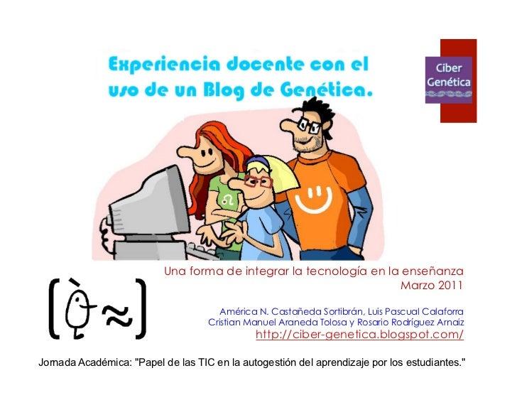 Experiencia docente valencia_2011