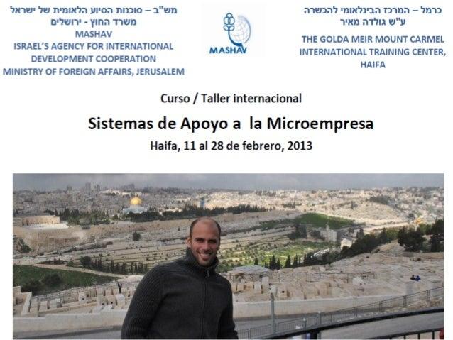 Experiencia Israel - febrero 2013