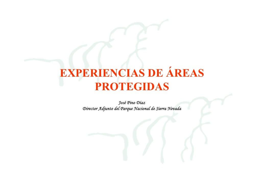 Experiencias de gestion en Areas Protegidas