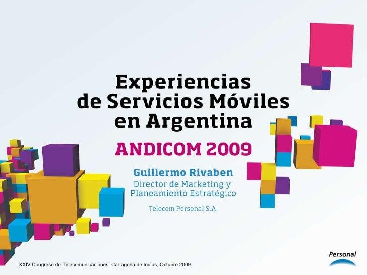 XXIV Congreso de Telecomunicaciones. Cartagena de Indias, Octubre 2009.
