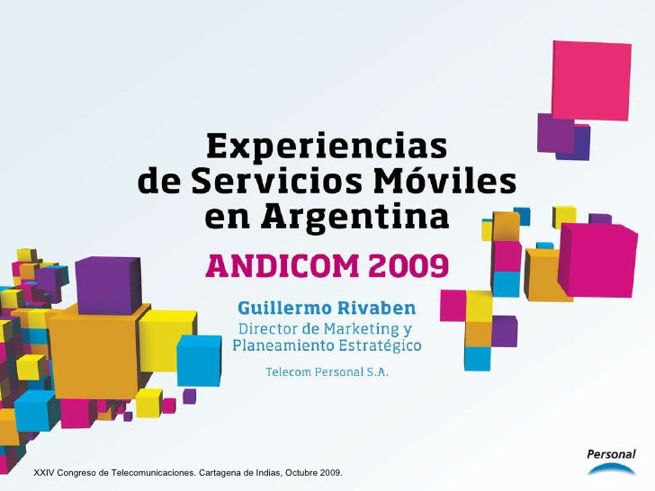 TELECOM PERSONAL - Experiencias de Servicios Móviles en Argentina
