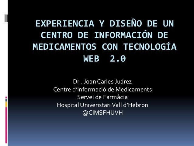 Experiencia y diseño de un centro de información