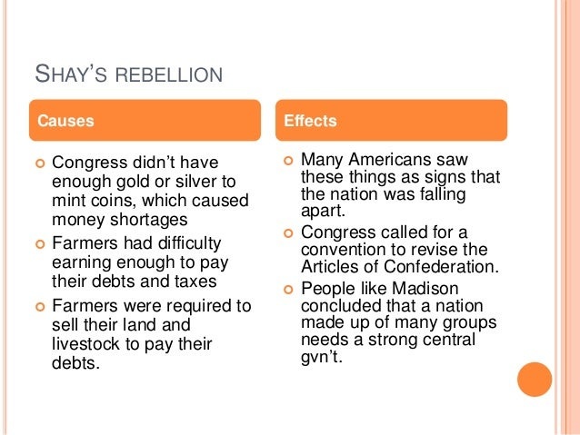 10 flaws of the articles of confederation
