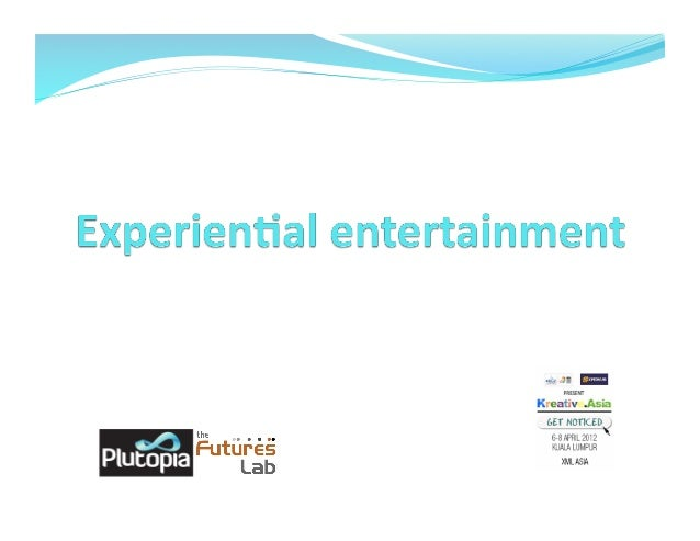 Experiential entertainment  making a sense eventtfinal