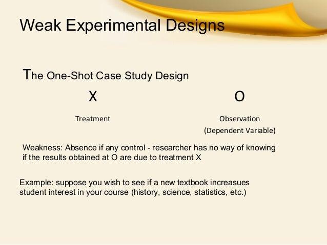 One case study
