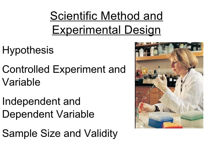 Hypothesis Controlled Experiment and Variable Independent and Dependent Variable Sample Size and Validity Scientific Metho...