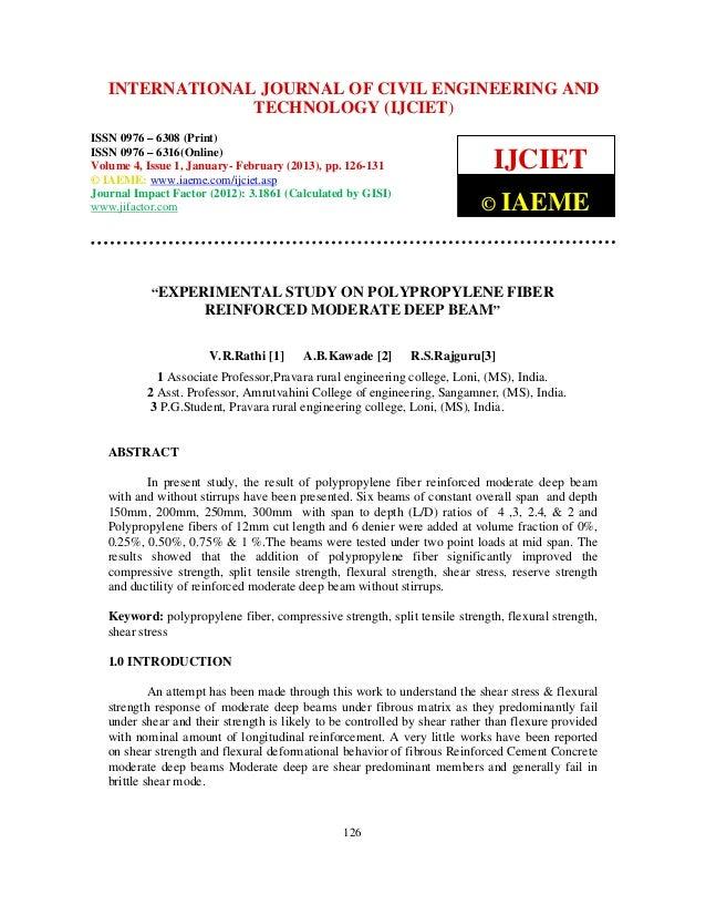 International Journal of Civil Engineering and Technology (IJCIET), ISSN 0976 – 6308   INTERNATIONAL JOURNAL OF CIVIL ENGI...