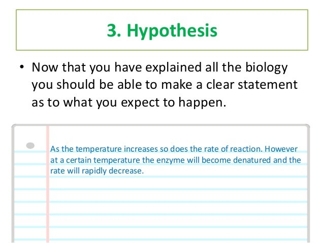 Biology A level practical/coursework question?