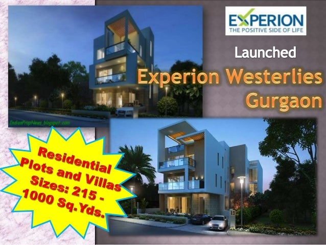 Experion Westerlies - Experion the Westerlies offers Villas and Plots at Gurgaon Sector 108