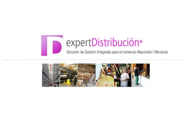 ERP Distribución - Expert Distribución
