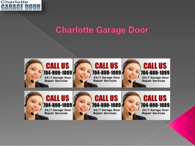 Expert garage door repair for Charlotte garage door repair