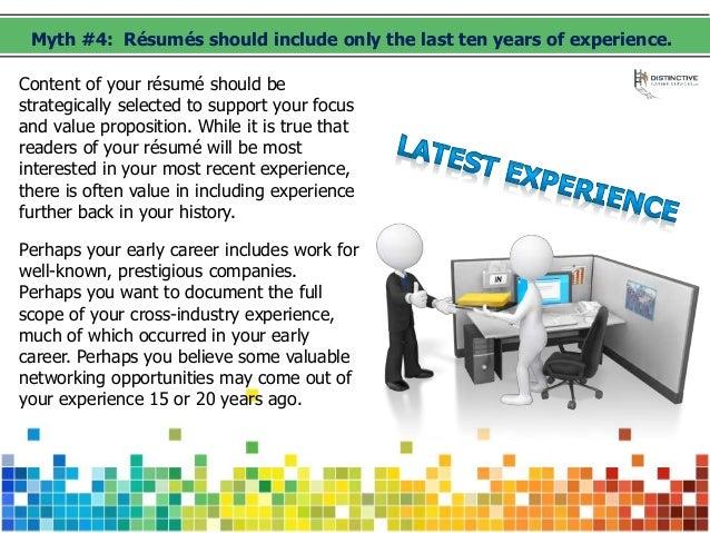Expert resume writing guide