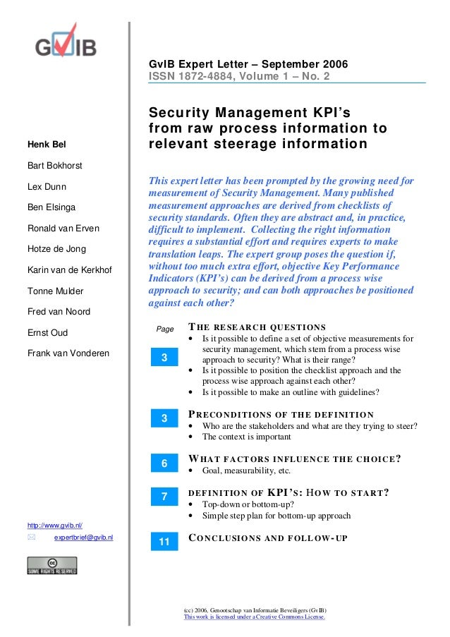 Expert letter   kp is for security management