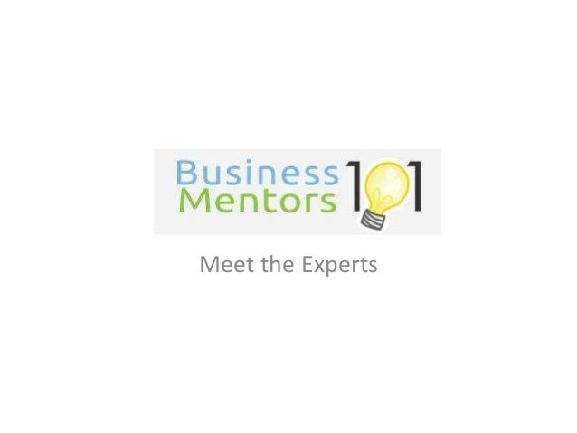 Business Mentors 101 Experts
