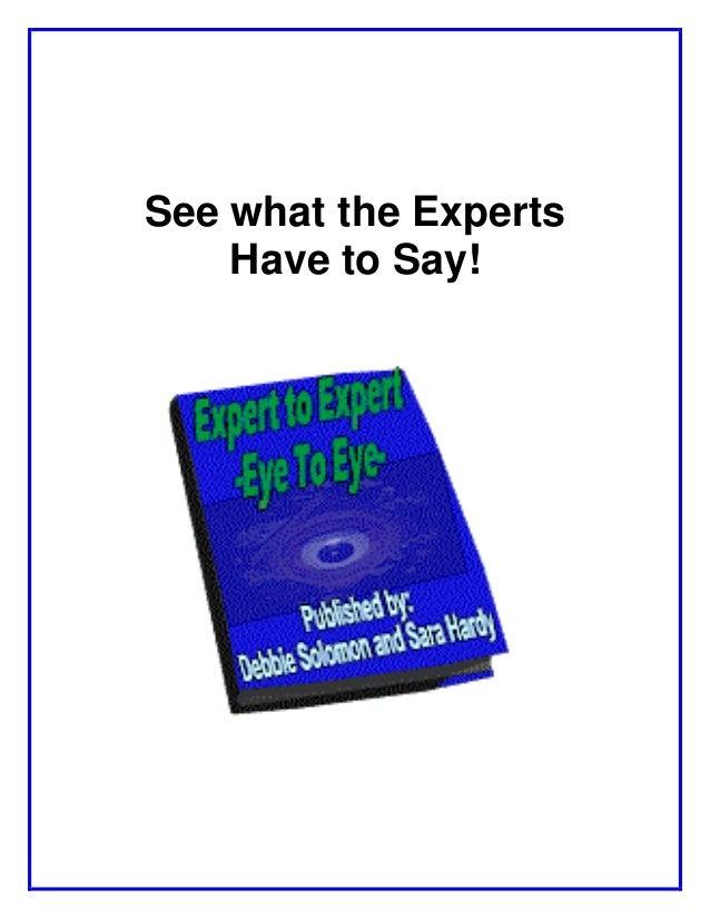 Expert to expert_ebook