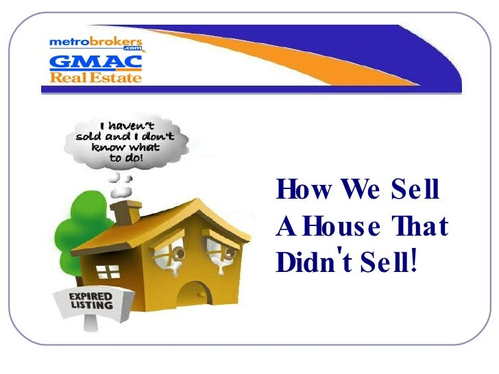 How We Sell A House That Didn't Sell!