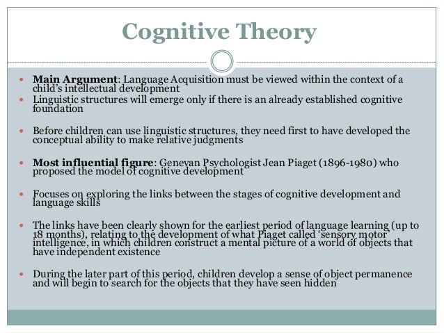 cognitive orientation to learning essay What is service learning or  teaching assistant orientation  students link personal and social development with academic and cognitive development.