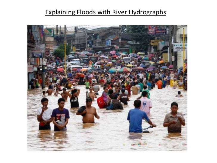 Explaining Floods with River Hydrographs