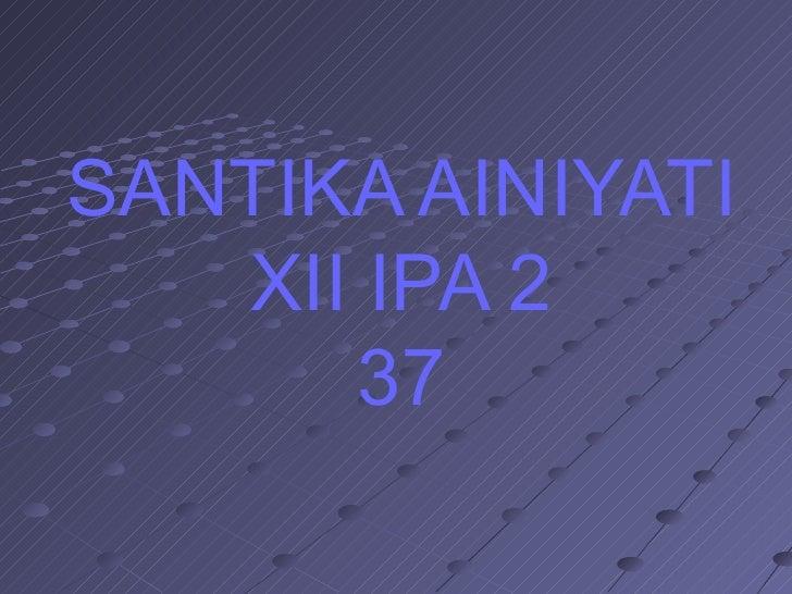 Explanation about smoking santika ainiyati
