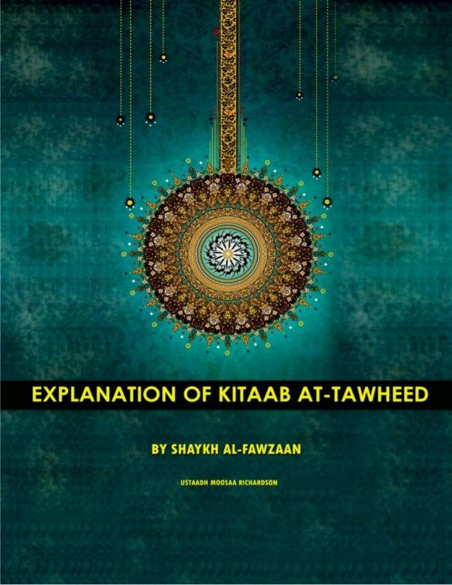 kitab at tawheed shaykh fawzan pdf
