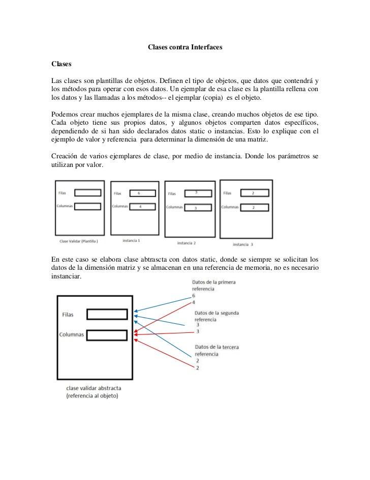 Explicacion de interface