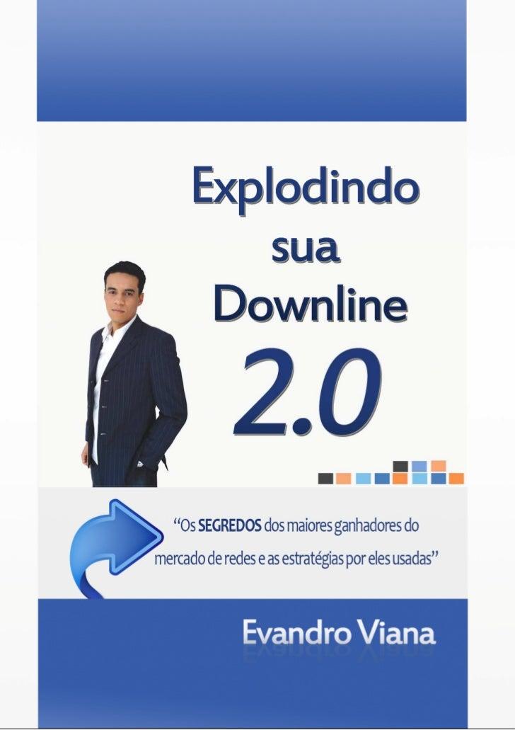 Explodindo sua Downline 2.0   2010 © EvandroViana.Com   1