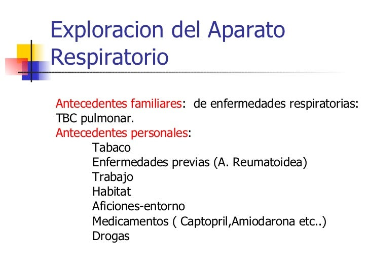 Exploracion Del Aparato Respiratorio