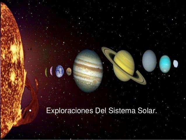 PORTADA • Exploraciones Del Sistema Solar.