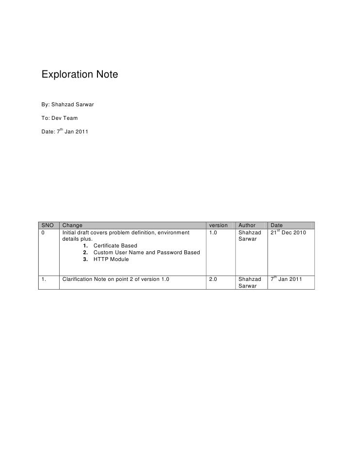Exploration note - none windows based authentication for WCF