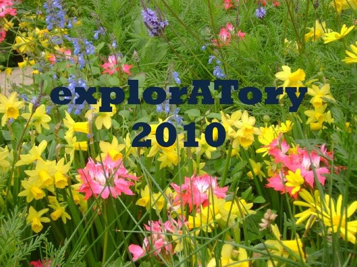 ExplorATory 2010