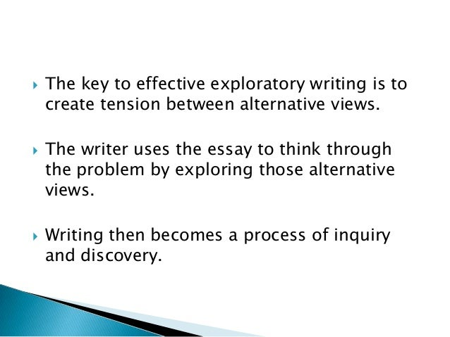 Exploratory Essay Definition and Examples - ThoughtCo