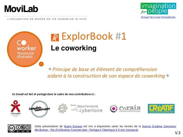 ExplorBook le coworking dans un tiers lieu