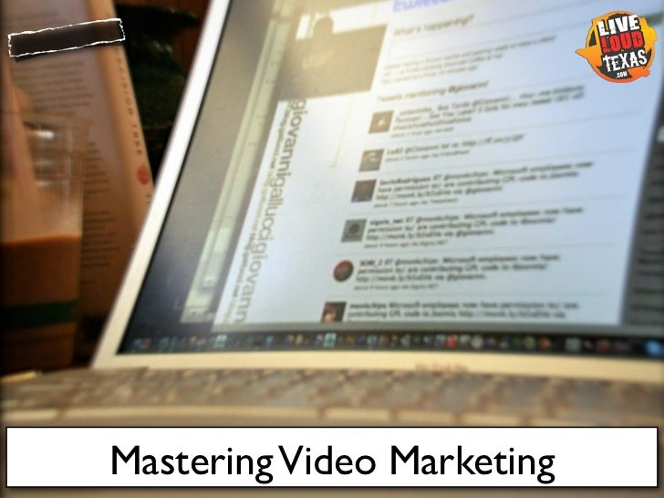 Mastering Video Marketing