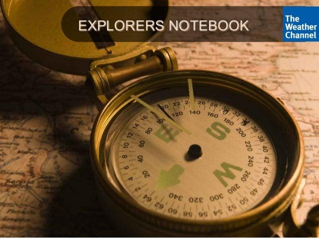 Explorers Notebook