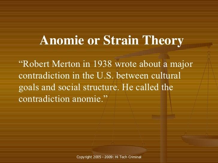 strain theory by robert merton