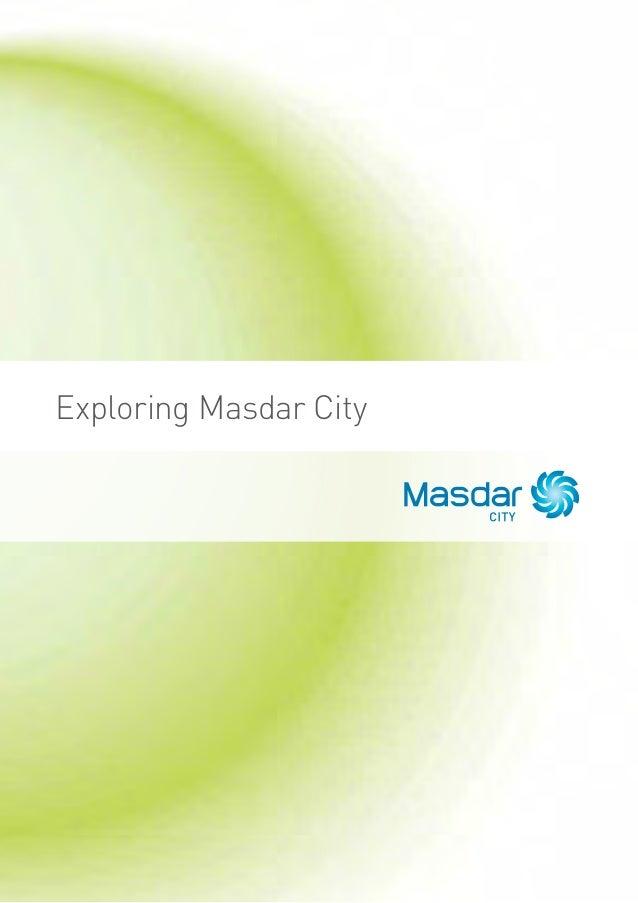 Exploring Masdar City