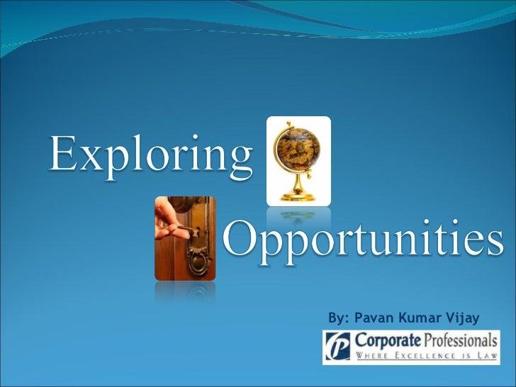 Exploring opportunities 03.04.2008 smtp