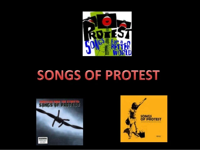 How is protest poetry/song an effectivew form of protest?